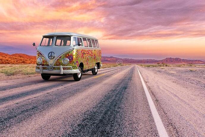 vw-hippie-van-bus-highway-open-road-vw-volkswagen-hippie-van-bus-open-road-highway-retro-vintage-vehicle-154375012