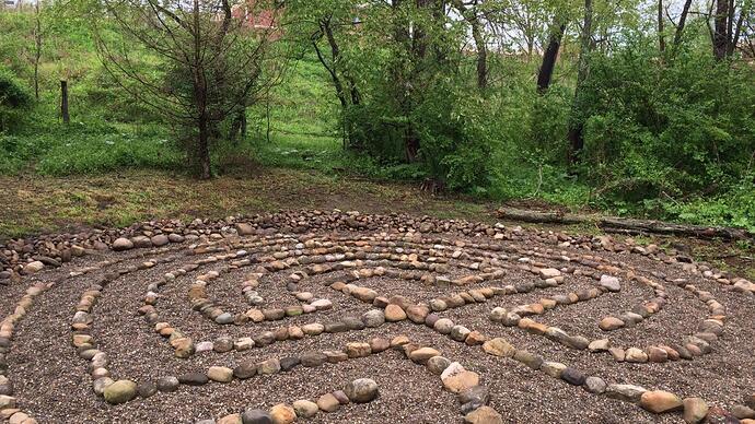 A Labyrinth -Washington