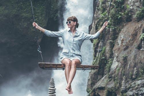 Balancing while Swinging